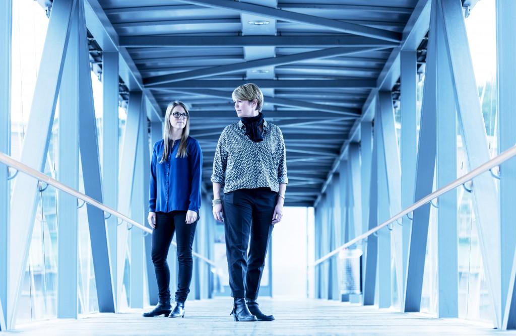 Johanna Daehli & Anna Toftgård © Ola Kjelbye